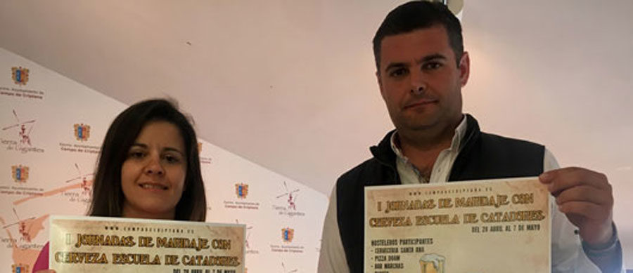 Presentadas las 'I Jornadas de Maridaje con Cerveza – Escuela de Catadores' de Campo de Criptana