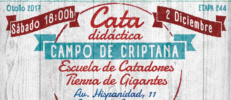 """Cata didáctica en Escuela de Catadores """"Tierra de Gigantes"""""""
