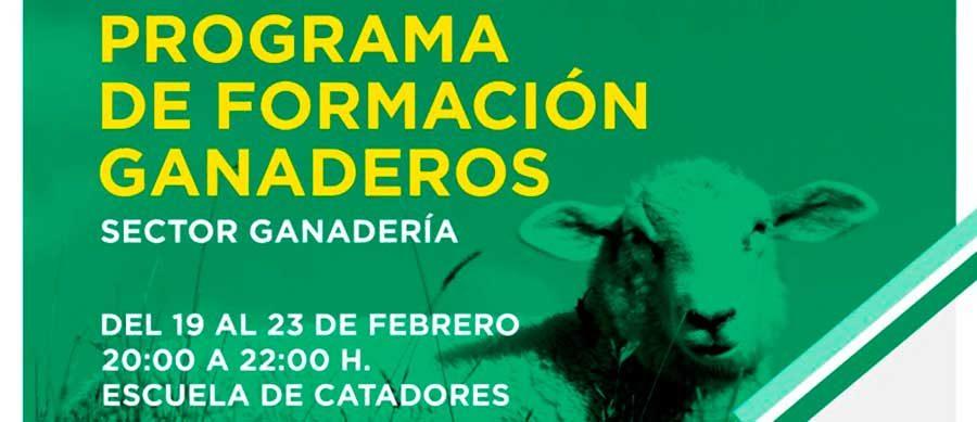 Escuela de Catadores acoge un nuevo curso formativo en materia de ganadería