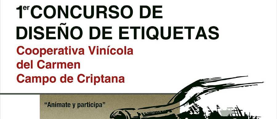 Bases del Primer Concurso de Diseño de Etiquetas de la Cooperativa Vinícola del Carmen de Campo de Criptana