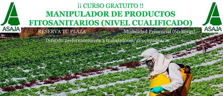 Curso gratuito de manipulador de productos fitosanitarios