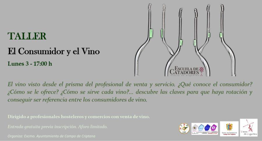 """Taller: """"El consumidor y el vino"""""""