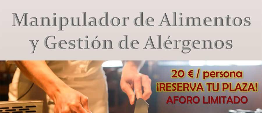 Curso de Manipulador de Alimentos y Gestión de Alérgenos