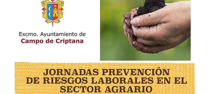 Jornadas de Prevención de Riesgos Laborales en el Sector Agrario