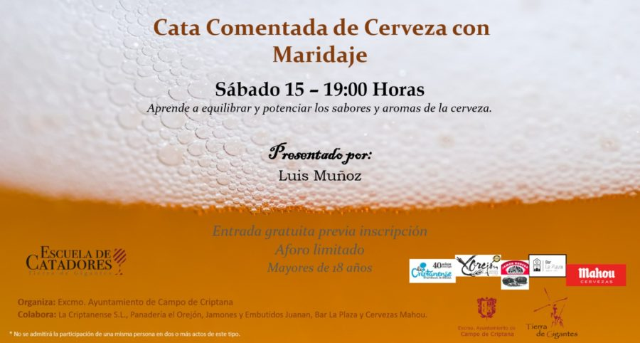 Cata Comentada de Cervezas con Maridaje