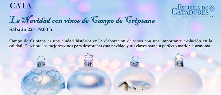 """Cata: """"La Navidad con vinos de Campo de Criptana"""""""