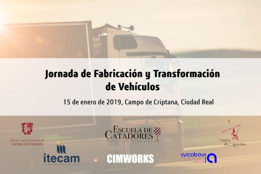 """Jornada sobre """"Fabricación y Transformación de Vehículos"""","""