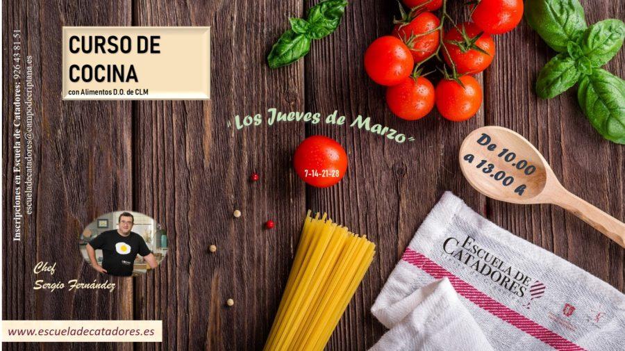 Curso de cocina con alimentos D.O. de Castilla-La Mancha
