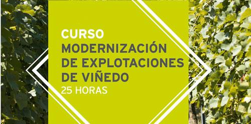 Curso de modernización de explotaciones de viñedos